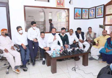 राजनैतिक दबाव के चलते कांग्रेसी नेताओं पर किया गया मुकदमा दर्ज : सुमित गौड़